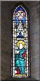 NY9650 : The Church of St. Mary The Virgin - stained glass window by Mike Quinn