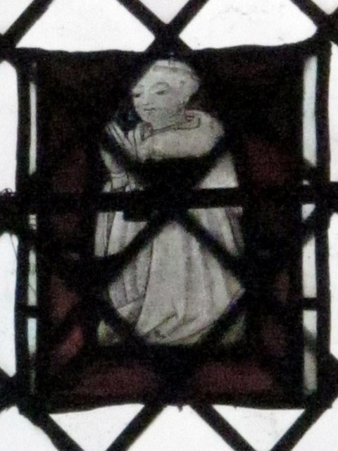 The Church of St. Mary The Virgin - stained glass window (2)