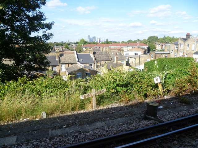 Looking out from Nunhead station