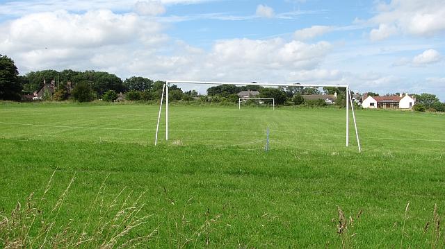 Football pitch, Craster