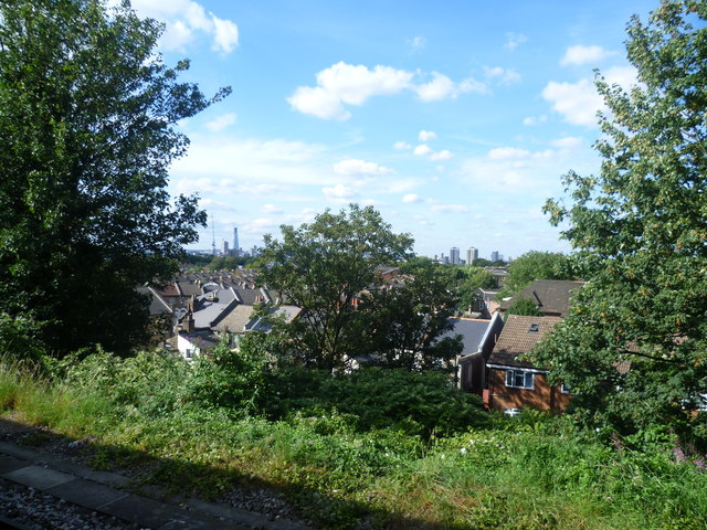 Nunhead station view