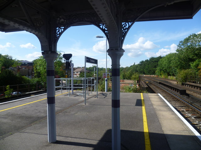 View from Shortlands station