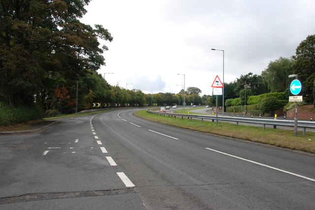 Bend in the Road, A449