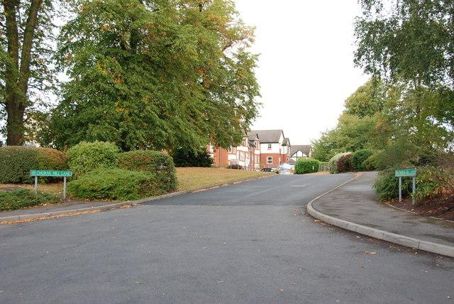 Churns Hill Lane, Himley