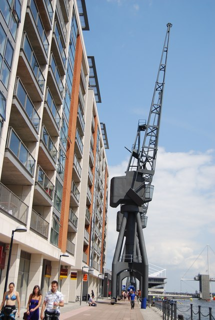 Crane, Royal Victoria Dock