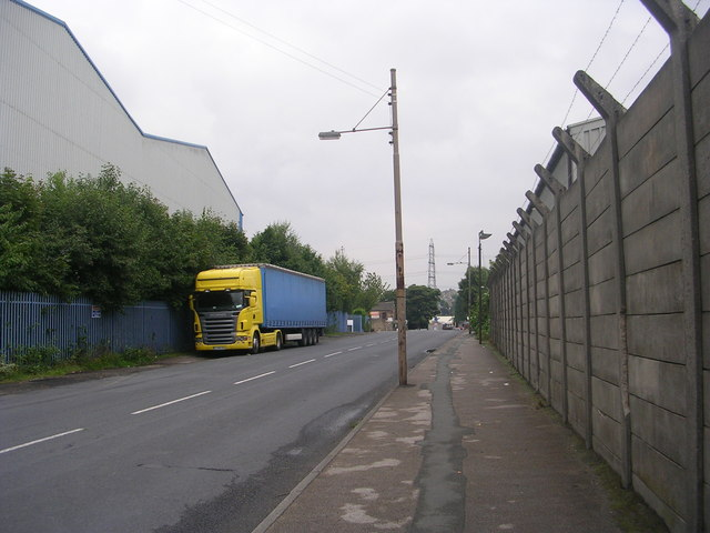 Brighouse Road - viewed from Chapel Road