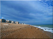 TQ7306 : West Beach, Bexhill by John Winfield