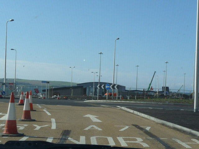 Roundabout New Ferry Terminal