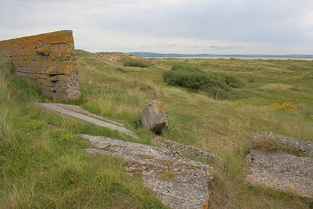 Remains of Concrete Wall, Haverigg Bent Hills