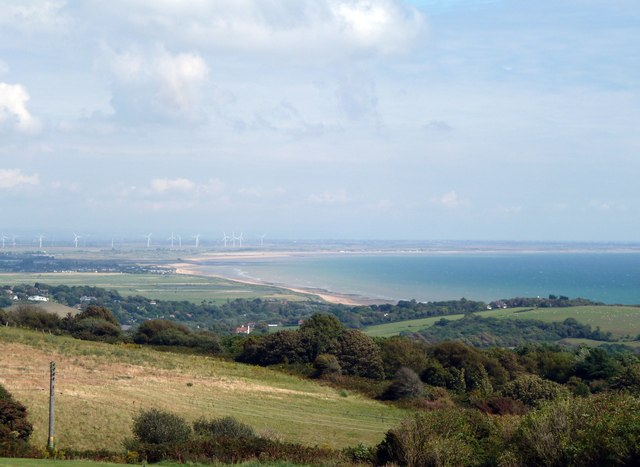Hastings Country Park and Rye Bay