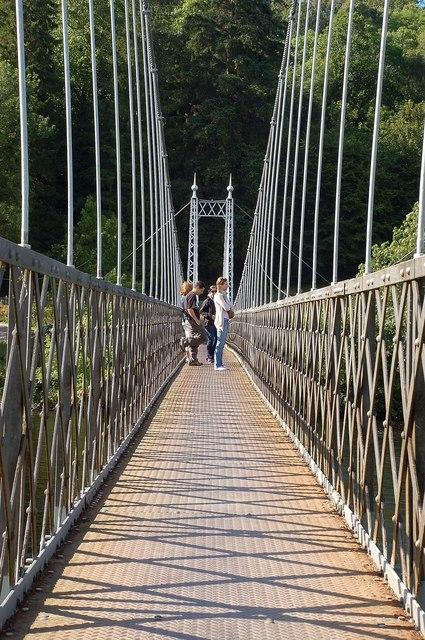 On Victoria Bridge
