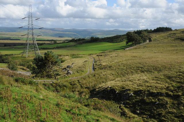 Track to Hafod y garreg