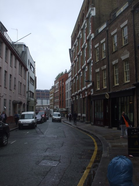 Cowcross Street, London