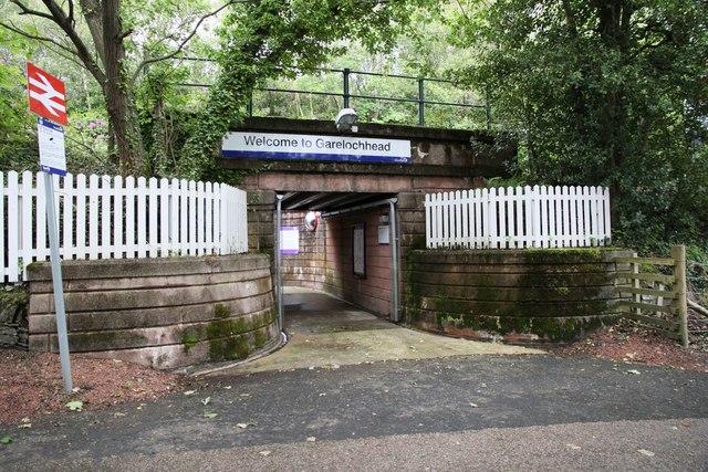 Subway Entrance for Garelochhead station