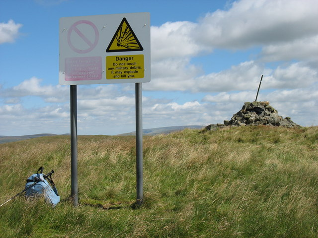 The summit of Raven's Knowe