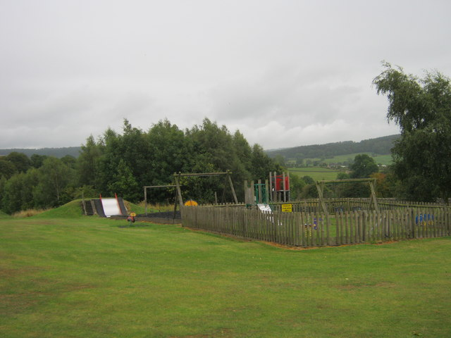 Play area in Youlgrave
