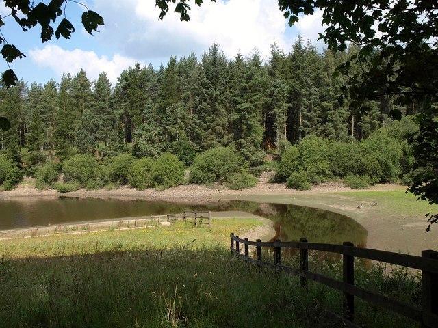 Corner of Swinsty Reservoir