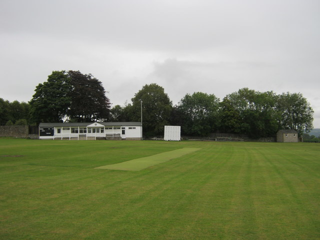 Youlgrave cricket pitch