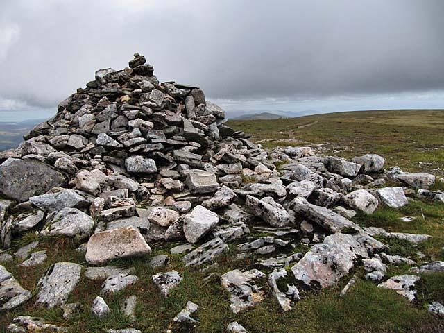Creag Meagaidh summit cairn