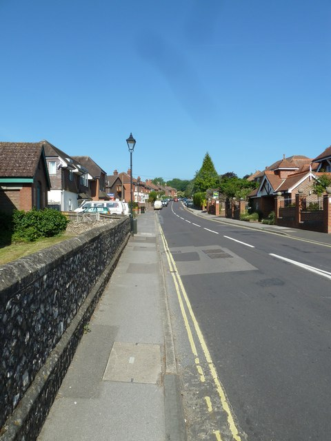 Southampton Hill in early June