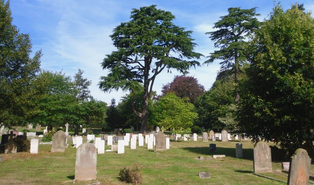 Part of Canterbury Cemetery