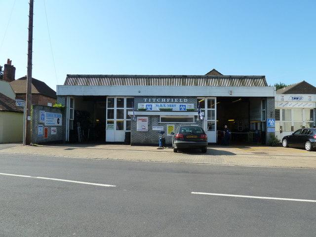 Garage in East Street