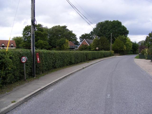 Southolt Road & Horse Pond Corner Postbox