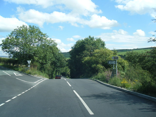 Macclesfield Road/Higher Lane junction