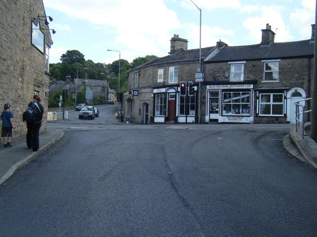 Lower Macclesfield Road/A5004 junction