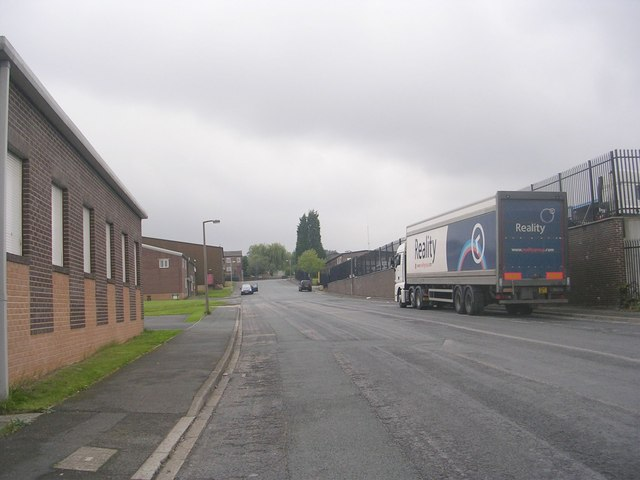 Morley Carr Road - looking towards Carr Lane