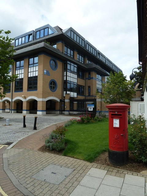 Postbox by the WSCC offices