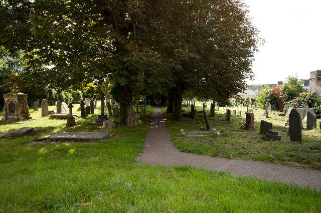 The Grave Yard at Trinity Church