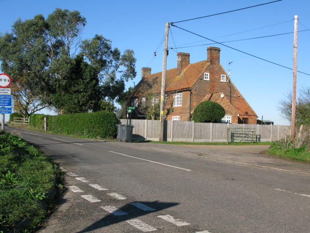 Old Mill House on the Saxon Shore Way