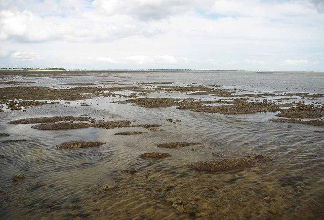 Low Tide on East Mersea Flats