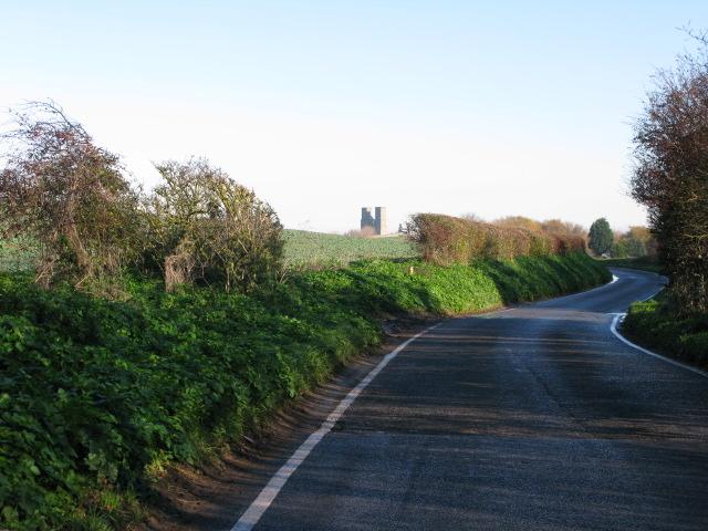 View along Reculver Lane