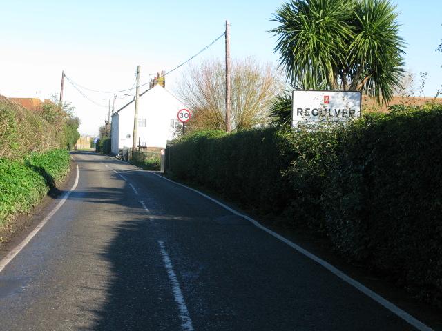 Entering the village of Reculver