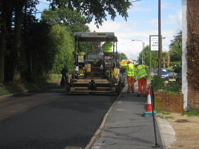 Resurfacing Oakley Lane