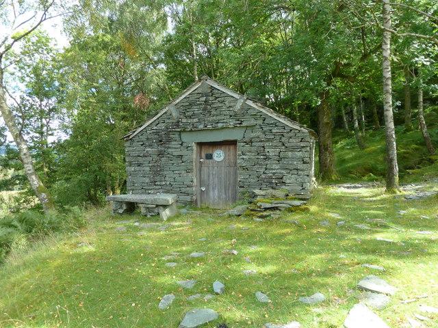 National Trust quarry hut, Little Langdale