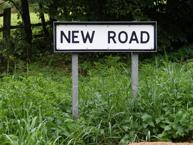 New Road sign