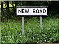 TM2368 : New Road sign by Adrian Cable