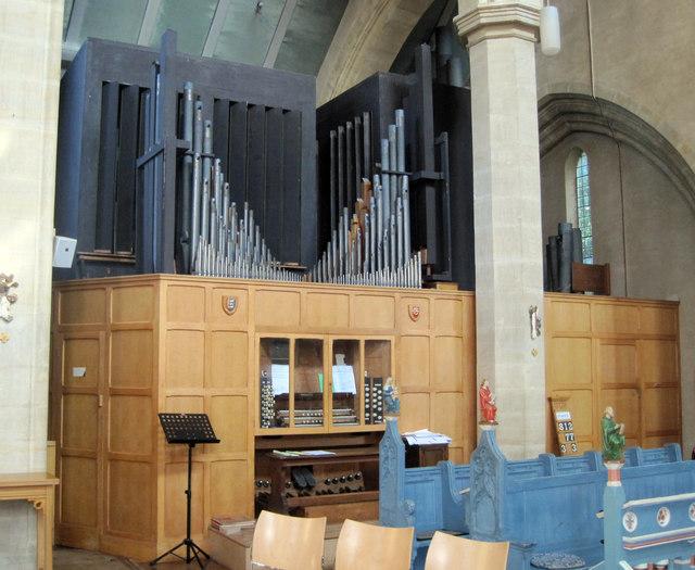 The Organ in St John's Church