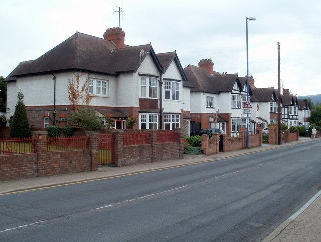 Hereford Road houses, Abergavenny