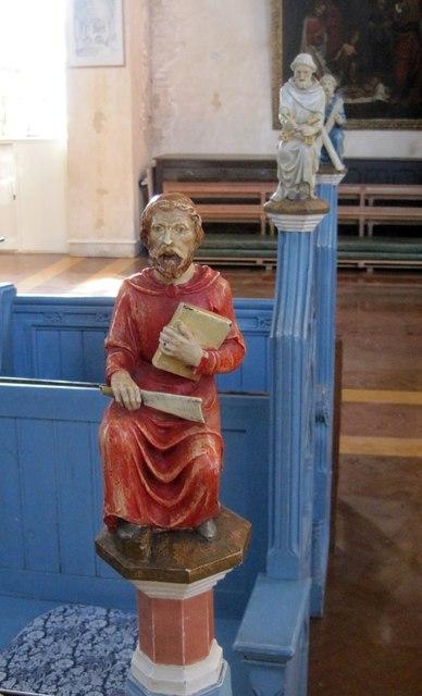 Carved Figure, St John's Church