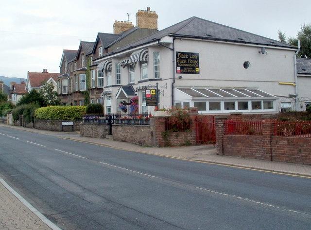 Black Lion Guest House, Abergavenny