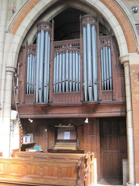 Organ in St Matthew's Church, Silverhill