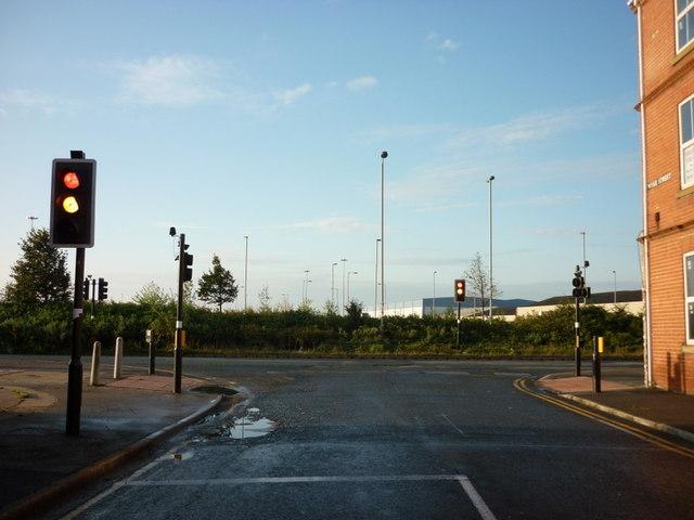 Wyke Street at Hedon Road, Kingston upon Hull