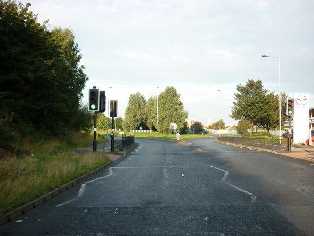 Hedon Road towards Mount Pleasant roundabout