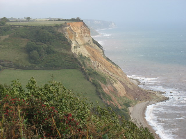 Higher Dunscombe Cliff