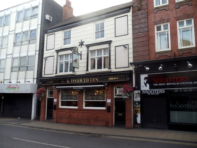 The St Leger Tavern, Silver Street, Doncaster