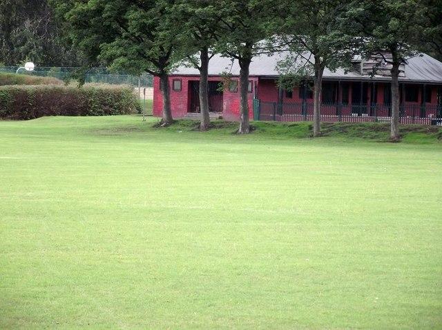 Holroyd Park sports pavilion
